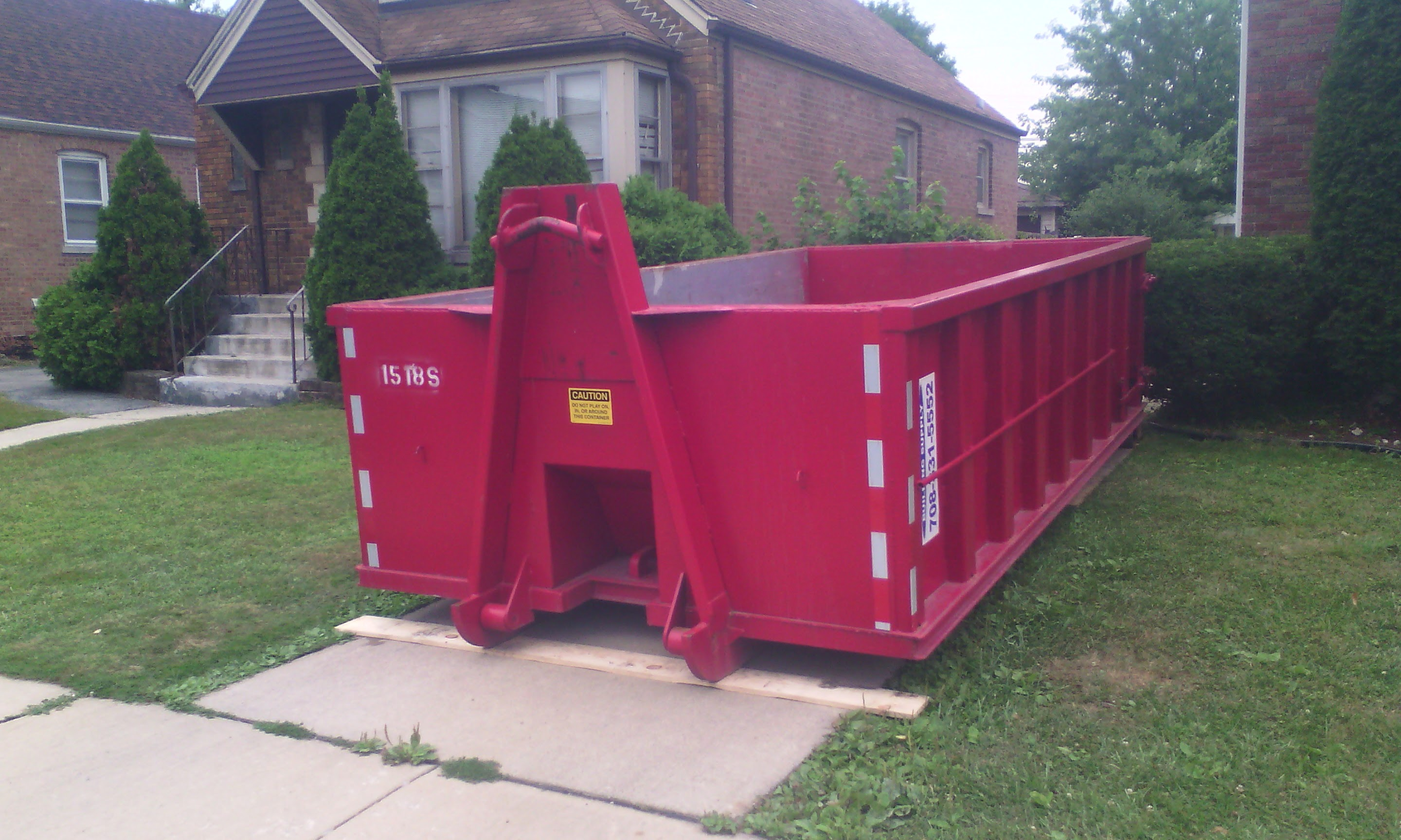 Roll Off Dumpster Rental Midway Building Supply